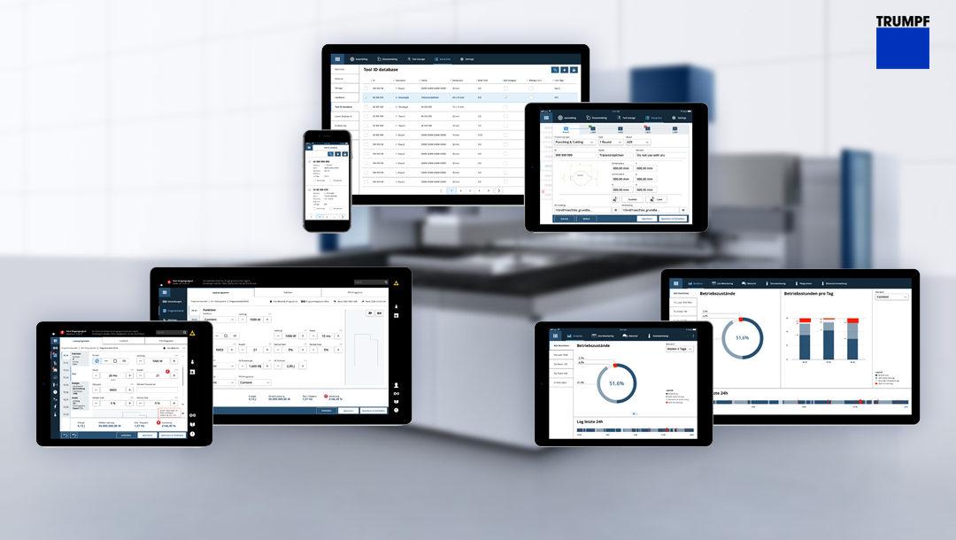 Software Technologien Slider HTML5 Trumpf 1080