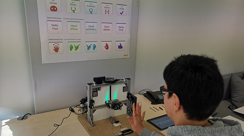 Wie sieht die optimale Human-Robot Interaction (HRI) aus? Unsere Studie gibt Antworten.