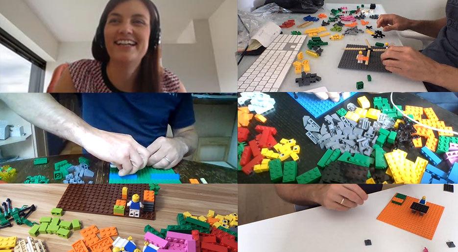 Lego Serious Play ist auch remote ein Erfolg.