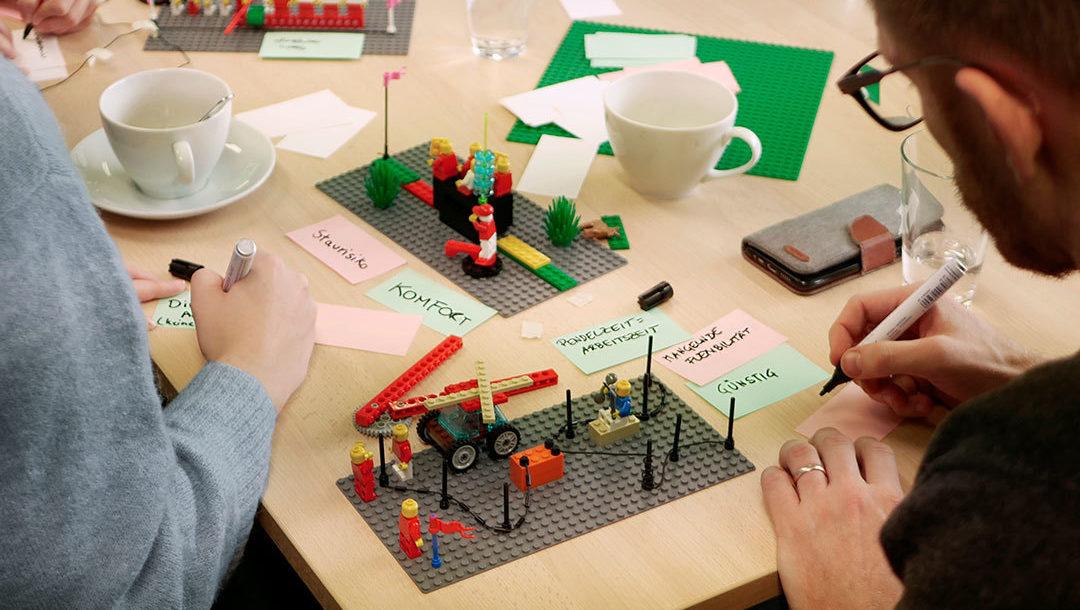 Mit Lego Serious Play erarbeiten Sie spielerisch innovative Strategien und Visionen.