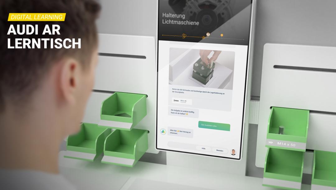 KoBeLu ist ein Digital-Learning-System, das Azubis durch Gamification und Augmented Reality beim Lernen unterstützt.