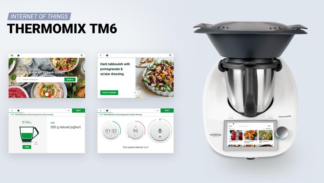 Der Thermomix macht das Kochen zum digitalen Erlebnis.