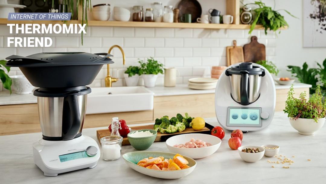 Thermomix und Thermomix Friend sorgen für ein geräteübergreifendes Kocherlebnis.